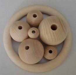 Holzkugeln 30 mm Ø